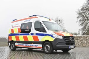 Mercedes-Benz Vans is electrifying Ambulance vehicles