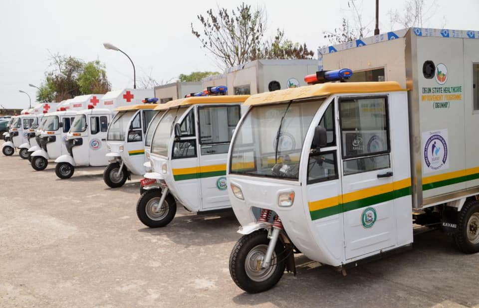 Ogun Tackles Maternal Mortality, Distribute Tricycle Ambulances To Primary Health Centres (Photos) Brandspurng4