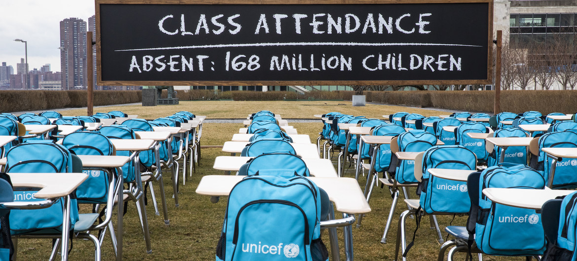 Over 168 Million Children Miss Nearly A Year of Schooling - UNICEF Brandspurng