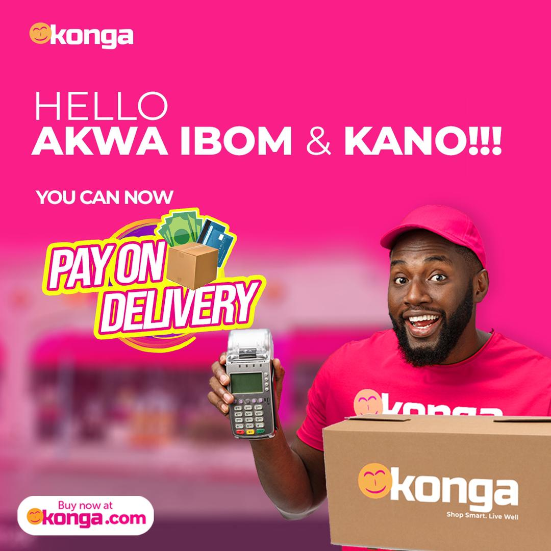 Konga Shoppers In Akwa Ibom, Kano To Enjoy POD - Brand Spur