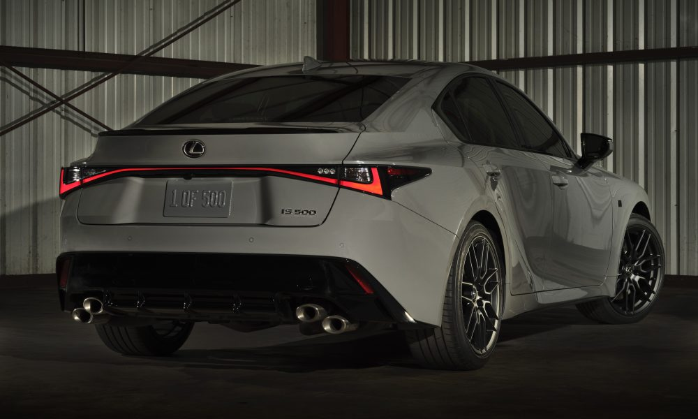 brandspurng 2022 LEXUS IS 500 F SPORT Performance Launch Edition IS 500 Performance With A Touch Of Distinction1