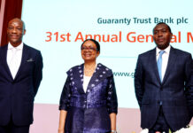 GTBank - 31st AGM Brandspurng GTBank Shareholders Endorse N3.00 Total Dividend for 2020, Applaud Agbaje's Leadership