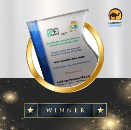 Leadway Pensure PFA Emerges Most Admired Pension and Finance Brand in the 2021 Africa Brands Awards Brandspurng