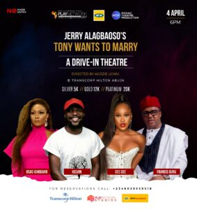 """MTN Foundation Sponsors """"Tony Wants To Marry"""" Drive-In Theatre Performance-Brand Spur Nigeria"""