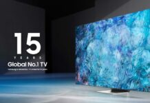 Samsung Named No.1 Global TV Manufacturer for 15 Consecutive Years Brandspurng