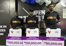 Gideon John, Wale Akinola Win VBank Snooker & Billiards Tournament (Photos)