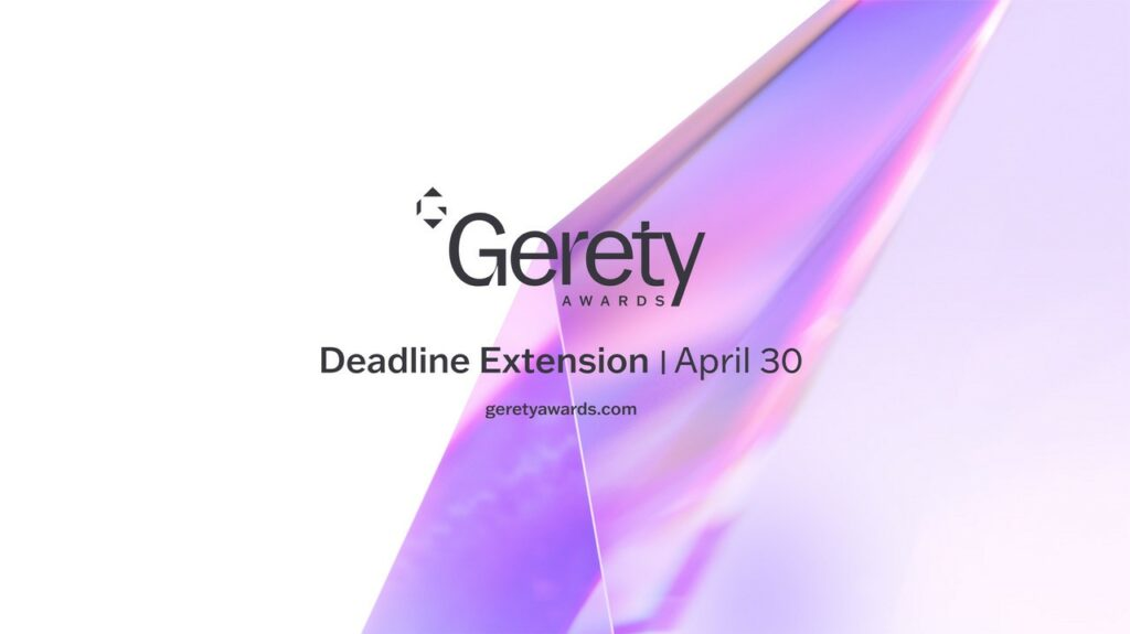 Gerety Awards Announces Deadline Extension and New Category